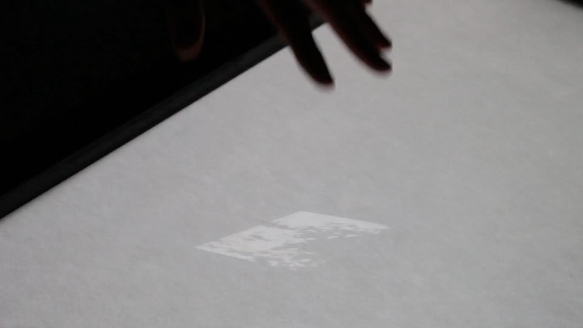 Ink-under-paper-short, Chevalvert